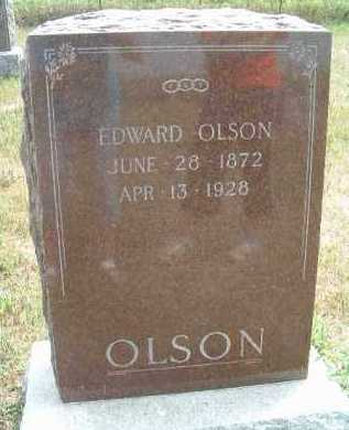 OLSON, EDWARD - Clay County, South Dakota | EDWARD OLSON - South Dakota Gravestone Photos