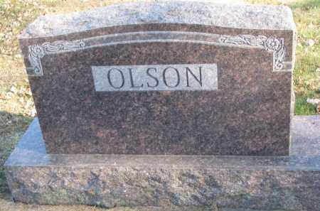 OLSON, FAMILY STONE - Clay County, South Dakota | FAMILY STONE OLSON - South Dakota Gravestone Photos