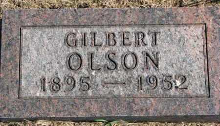 OLSON, GILBERT - Clay County, South Dakota   GILBERT OLSON - South Dakota Gravestone Photos