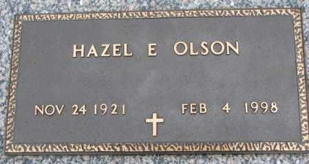 OLSON, HAZEL E. - Clay County, South Dakota | HAZEL E. OLSON - South Dakota Gravestone Photos