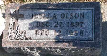 OLSON, IDELIA - Clay County, South Dakota | IDELIA OLSON - South Dakota Gravestone Photos