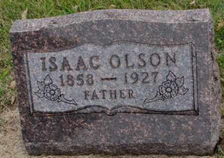 OLSON, ISAAC - Clay County, South Dakota | ISAAC OLSON - South Dakota Gravestone Photos