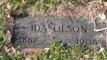 OLSON, IDA - Clay County, South Dakota   IDA OLSON - South Dakota Gravestone Photos