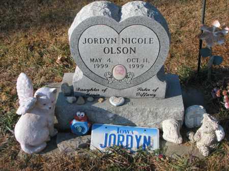 OLSON, JORDYN NICOLE - Clay County, South Dakota   JORDYN NICOLE OLSON - South Dakota Gravestone Photos