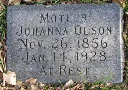 OLSON, JOHANNA - Clay County, South Dakota   JOHANNA OLSON - South Dakota Gravestone Photos