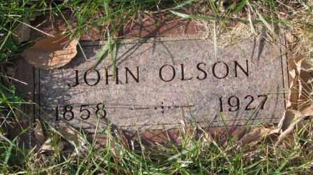 OLSON, JOHN - Clay County, South Dakota | JOHN OLSON - South Dakota Gravestone Photos