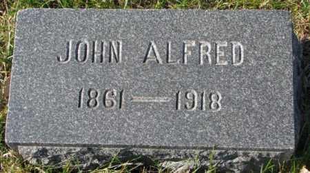 OLSON, JOHN ALFRED - Clay County, South Dakota | JOHN ALFRED OLSON - South Dakota Gravestone Photos