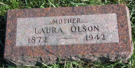 OLSON, LAURA - Clay County, South Dakota | LAURA OLSON - South Dakota Gravestone Photos
