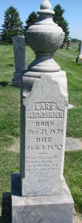 OLSON, LARS ALICKSANDER - Clay County, South Dakota   LARS ALICKSANDER OLSON - South Dakota Gravestone Photos
