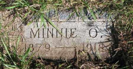 OLSON, MINNIE O. - Clay County, South Dakota | MINNIE O. OLSON - South Dakota Gravestone Photos