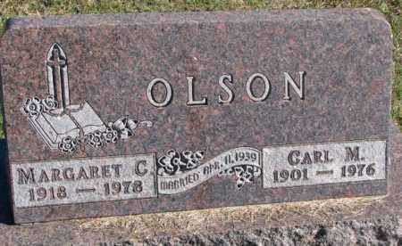 OLSON, CARL M. - Clay County, South Dakota | CARL M. OLSON - South Dakota Gravestone Photos