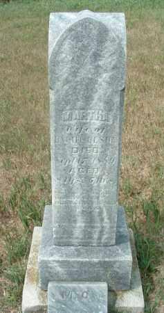 OLSON, MARTHA - Clay County, South Dakota   MARTHA OLSON - South Dakota Gravestone Photos