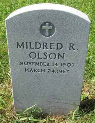 OLSON, MILDRED R. - Clay County, South Dakota | MILDRED R. OLSON - South Dakota Gravestone Photos