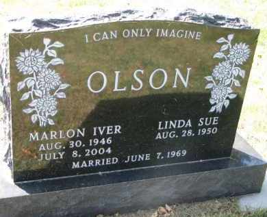 OLSON, MARLON IVER - Clay County, South Dakota | MARLON IVER OLSON - South Dakota Gravestone Photos