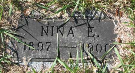 OLSON, NINA E. - Clay County, South Dakota | NINA E. OLSON - South Dakota Gravestone Photos