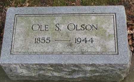 OLSON, OLE S. - Clay County, South Dakota | OLE S. OLSON - South Dakota Gravestone Photos