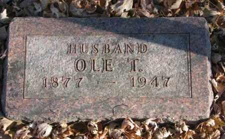 OLSON, OLE T. - Clay County, South Dakota | OLE T. OLSON - South Dakota Gravestone Photos