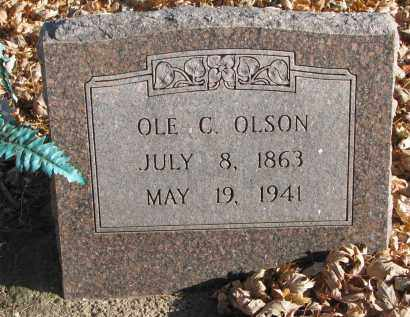 OLSON, OLE C. - Clay County, South Dakota | OLE C. OLSON - South Dakota Gravestone Photos