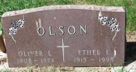 OLSON, OLIVER L. - Clay County, South Dakota | OLIVER L. OLSON - South Dakota Gravestone Photos