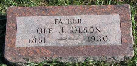 OLSON, OLE J. - Clay County, South Dakota | OLE J. OLSON - South Dakota Gravestone Photos
