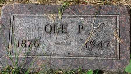 OLSON, OLE P. - Clay County, South Dakota   OLE P. OLSON - South Dakota Gravestone Photos