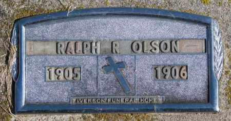 OLSON, RALPH R. - Clay County, South Dakota | RALPH R. OLSON - South Dakota Gravestone Photos