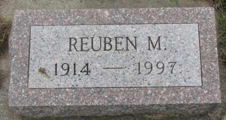 OLSON, REUBEN M. - Clay County, South Dakota | REUBEN M. OLSON - South Dakota Gravestone Photos