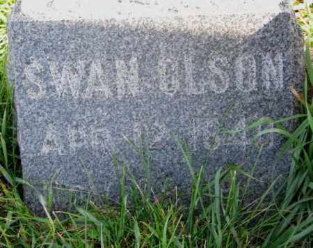 OLSON, SWAN - Clay County, South Dakota | SWAN OLSON - South Dakota Gravestone Photos