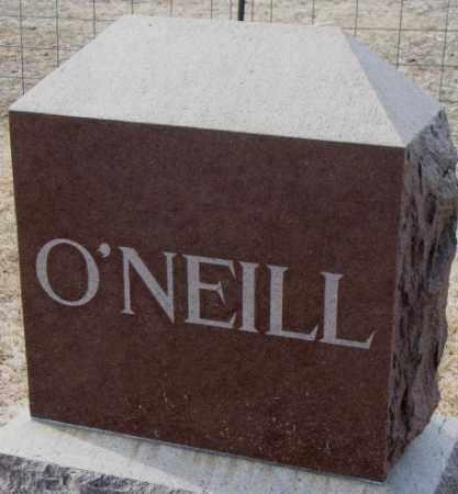 O'NEILL, PLOT - Clay County, South Dakota | PLOT O'NEILL - South Dakota Gravestone Photos