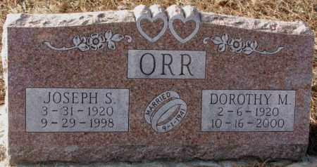 ORR, JOSEPH S. - Clay County, South Dakota   JOSEPH S. ORR - South Dakota Gravestone Photos