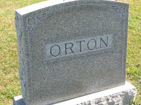 ORTON, FAMILY STONE - Clay County, South Dakota   FAMILY STONE ORTON - South Dakota Gravestone Photos