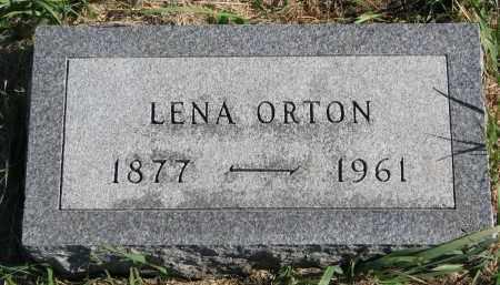 ORTON, LENA - Clay County, South Dakota | LENA ORTON - South Dakota Gravestone Photos