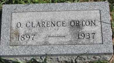 ORTON, O. CLARENCE - Clay County, South Dakota | O. CLARENCE ORTON - South Dakota Gravestone Photos