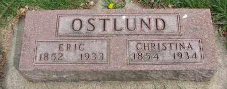 OSTLUND, CHRISTINA - Clay County, South Dakota   CHRISTINA OSTLUND - South Dakota Gravestone Photos