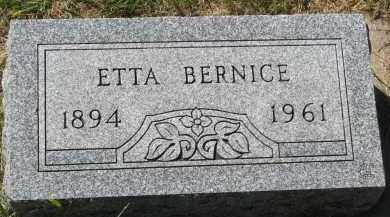 OSTLUND, ETTA BERNICE - Clay County, South Dakota | ETTA BERNICE OSTLUND - South Dakota Gravestone Photos