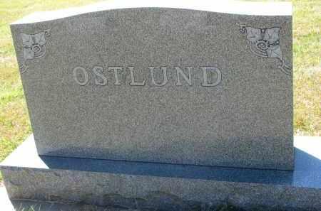 OSTLUND, FAMILY STONE - Clay County, South Dakota | FAMILY STONE OSTLUND - South Dakota Gravestone Photos