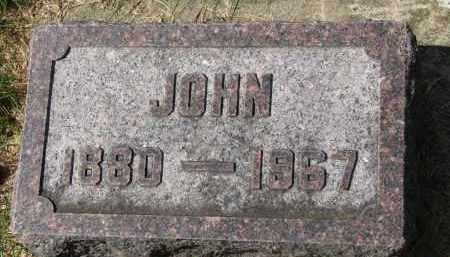 OSTLUND, JOHN - Clay County, South Dakota | JOHN OSTLUND - South Dakota Gravestone Photos