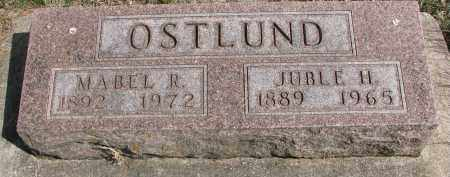 OSTLUND, JUBLE H. - Clay County, South Dakota | JUBLE H. OSTLUND - South Dakota Gravestone Photos