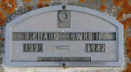 OWREN, RICHARD - Clay County, South Dakota   RICHARD OWREN - South Dakota Gravestone Photos