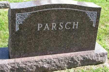 PARSCH, FAMILY STONE - Clay County, South Dakota | FAMILY STONE PARSCH - South Dakota Gravestone Photos