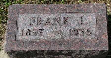 PARSCH, FRANK J. - Clay County, South Dakota   FRANK J. PARSCH - South Dakota Gravestone Photos