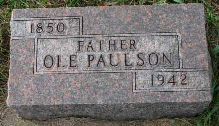PAULSON, OLE - Clay County, South Dakota | OLE PAULSON - South Dakota Gravestone Photos