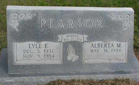 PEARSON, LYLE E. - Clay County, South Dakota | LYLE E. PEARSON - South Dakota Gravestone Photos