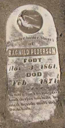PEDERSON, RAGNILD - Clay County, South Dakota | RAGNILD PEDERSON - South Dakota Gravestone Photos