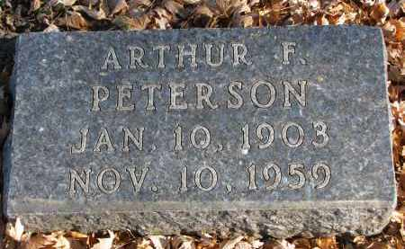 PETERSON, ARTHUR F. - Clay County, South Dakota | ARTHUR F. PETERSON - South Dakota Gravestone Photos