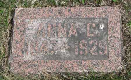 PETERSON, ANNA C. - Clay County, South Dakota | ANNA C. PETERSON - South Dakota Gravestone Photos