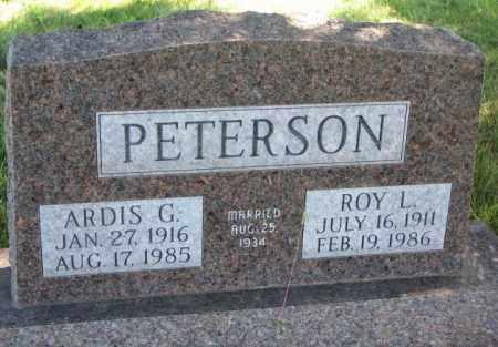 PETERSON, ARDIS G. - Clay County, South Dakota | ARDIS G. PETERSON - South Dakota Gravestone Photos