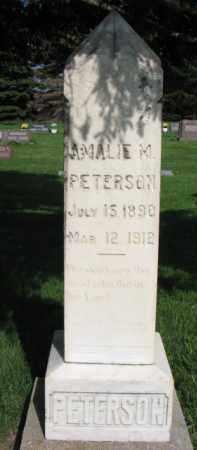 PETERSON, AMALIE M. - Clay County, South Dakota | AMALIE M. PETERSON - South Dakota Gravestone Photos