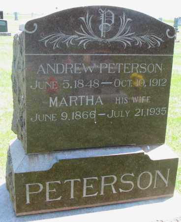 PETERSON, ANDREW - Clay County, South Dakota | ANDREW PETERSON - South Dakota Gravestone Photos