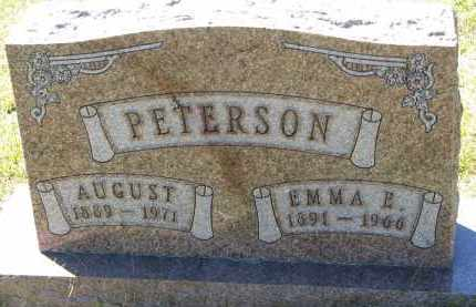 PETERSON, AUGUST - Clay County, South Dakota   AUGUST PETERSON - South Dakota Gravestone Photos